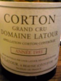1993 CORTON
